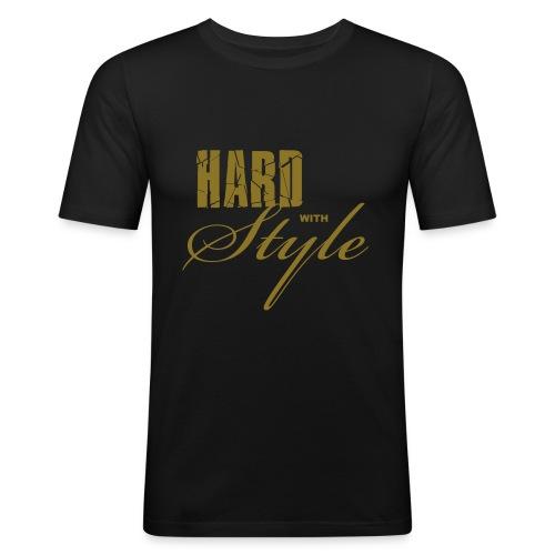 Hard Style - Männer Slim Fit T-Shirt
