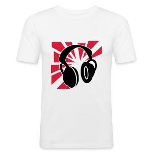 Japan Headphones męska  - Obcisła koszulka męska