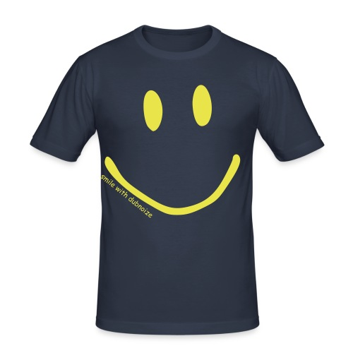 SMILE! - Männer Slim Fit T-Shirt