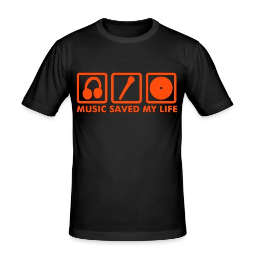Music Saved My Life II - Camiseta ajustada hombre