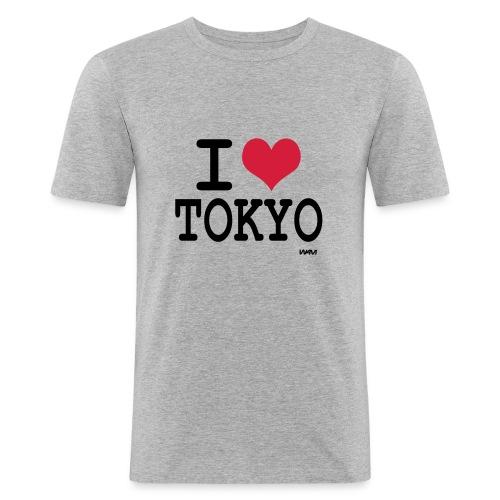 I love Tokyo - T-shirt près du corps Homme