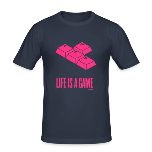 life a game - Men's Slim Fit T-Shirt