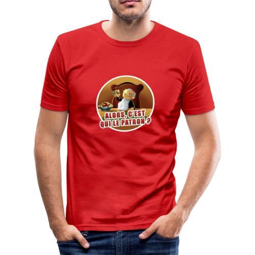 T-Shirt « Poker Mafia » (couleur au choix) - T-shirt près du corps Homme