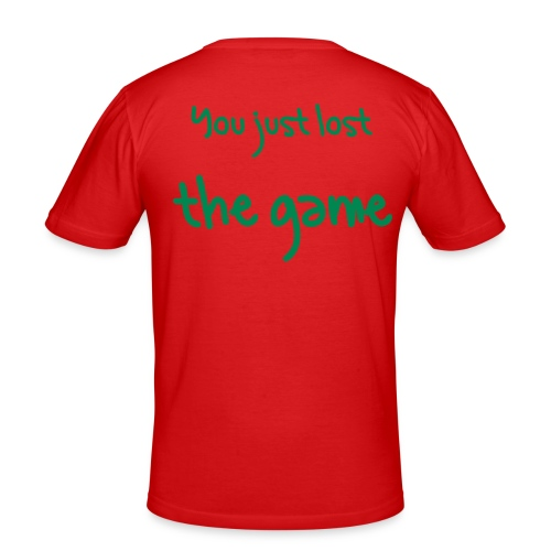 Lost the Game - Men's Slim Fit T-Shirt