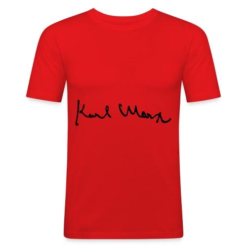 Karl Marx - Herre Slim Fit T-Shirt