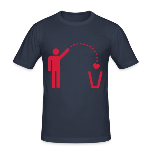 No love - T-shirt près du corps Homme