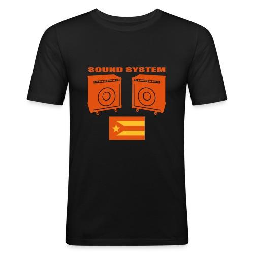 Musica latina - T-shirt près du corps Homme