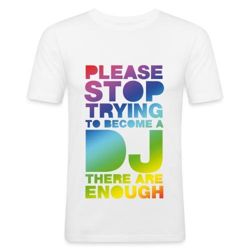 Stop trying - Camiseta ajustada hombre