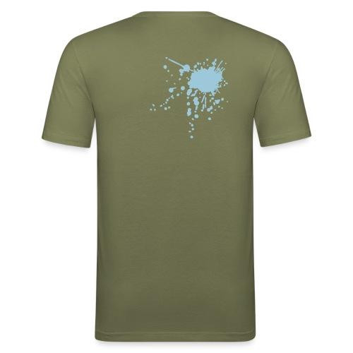 Pif Grey  - T-shirt près du corps Homme