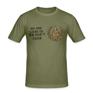 Tee Shirt No one likes us. We don't care  - Tee shirt près du corps Homme