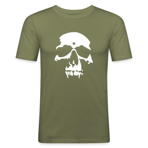 Skull t-shirt - Slim Fit T-shirt herr