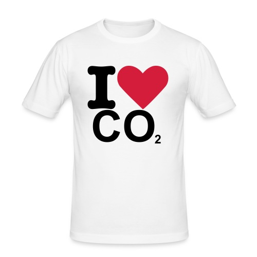 I love CO2 - slim fit T-shirt