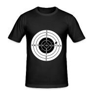 T-shirts ~ slim fit T-shirt ~ Shoot me ...