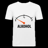 T-shirts ~ slim fit T-shirt ~ Alkohol