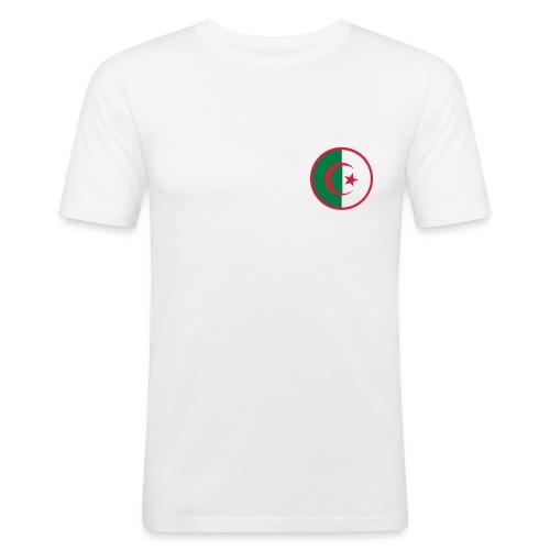 Algerie Simple White - T-shirt près du corps Homme