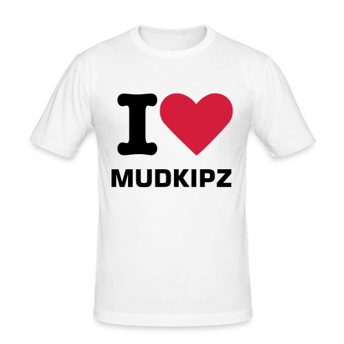 i love mudkipz tshirt - Men's Slim Fit T-Shirt