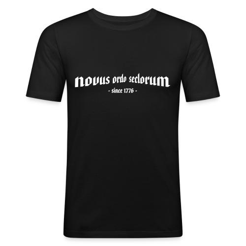 T-Shirt novus ordo seclorum - Männer Slim Fit T-Shirt