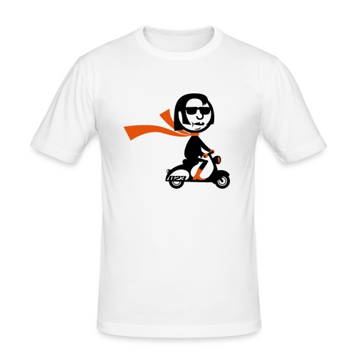 vespa cruiser - Men's Slim Fit T-Shirt