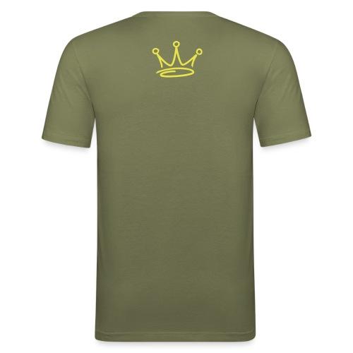 fuck the queen - T-shirt près du corps Homme
