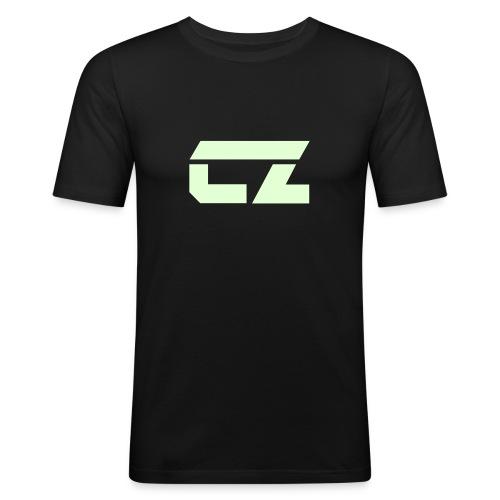 CZ-Audio Men's Clubbing T-Shirt - Men's Slim Fit T-Shirt
