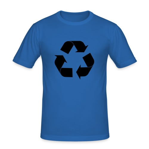 Recycle - Men's Slim Fit T-Shirt