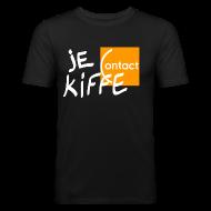 Tee shirts ~ Tee shirt près du corps Homme ~ Je kiffe Contact