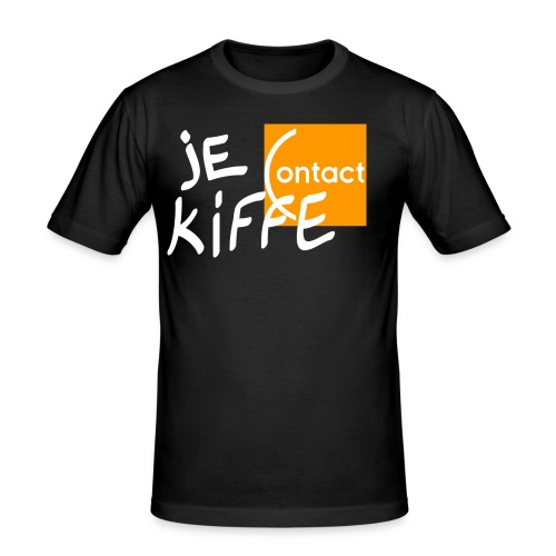 Je kiffe Contact - T-shirt près du corps Homme