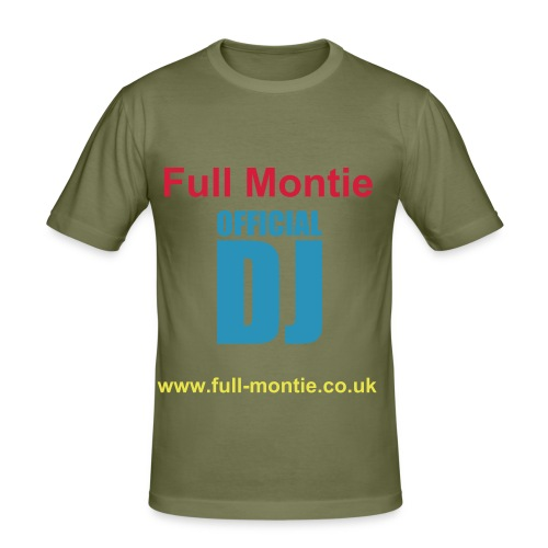 Full Moontie - Men's Slim Fit T-Shirt