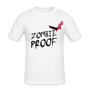 Zombie Proof, Obviously! - Men's Slim Fit T-Shirt