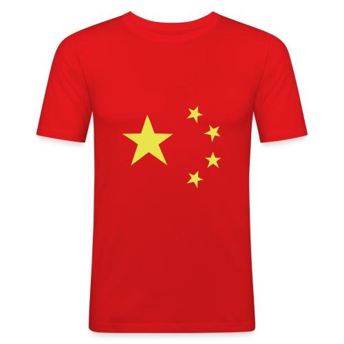 Slim Fit China Top - Men's Slim Fit T-Shirt