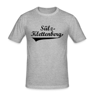 Sülz-Klettenberg Shirt Farbwahl (schwarzer Druck) - Männer Slim Fit T-Shirt