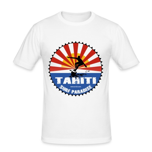 Tahiti Slim Fit T-shirt - Men's Slim Fit T-Shirt