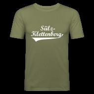 T-Shirts ~ Männer Slim Fit T-Shirt ~ Sülz-Klettenberg Shirt Farbwahl (weißer Druck)