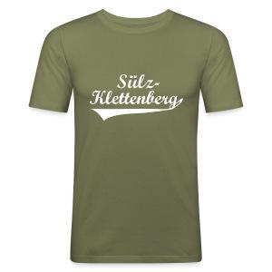 Sülz-Klettenberg Shirt Farbwahl (weißer Druck) - Männer Slim Fit T-Shirt