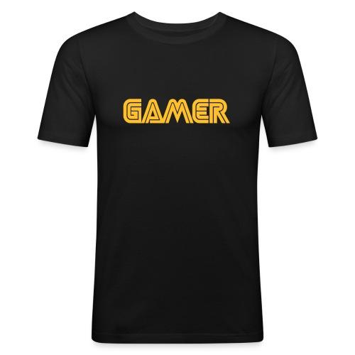 Gamer Jaune - T-shirt près du corps Homme