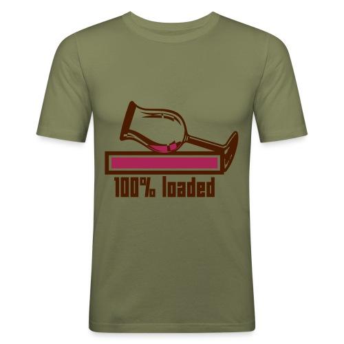 Retro 3 - T-shirt près du corps Homme