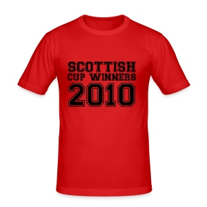 2010 Scottish Cup Winners - Men's Slim Fit T-Shirt