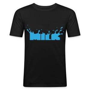 Milk - Männer Slim Fit T-Shirt