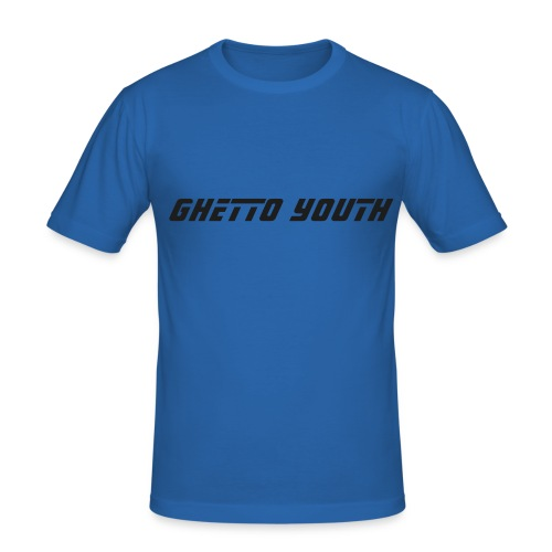 marque : ghetto youth - T-shirt près du corps Homme