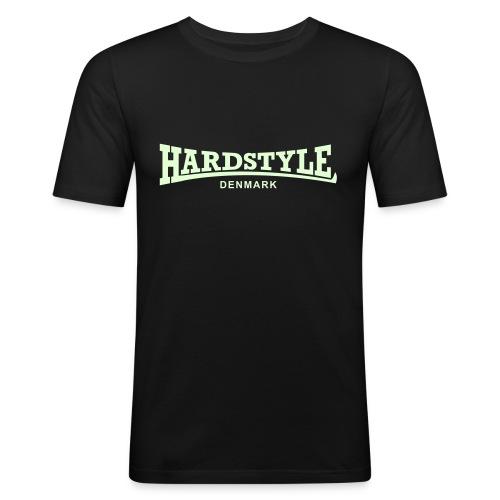 Hardstyle Denmark - Glow in the dark - Men's Slim Fit T-Shirt