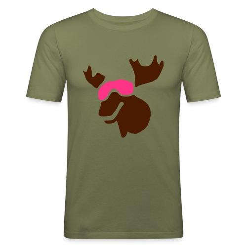 Kamel Man - Slim Fit T-skjorte for menn
