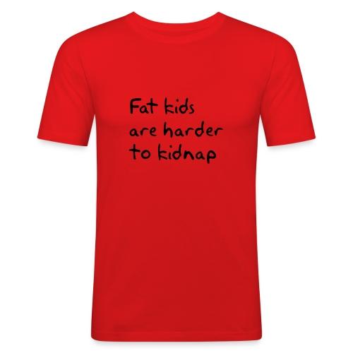 Fat kids. T-shirt - Herre Slim Fit T-Shirt
