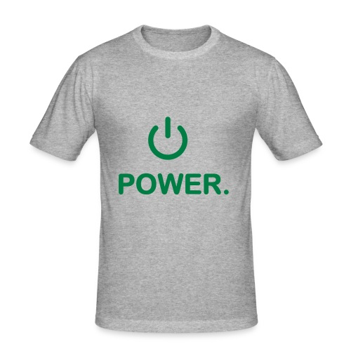 I like power! - Men's Slim Fit T-Shirt
