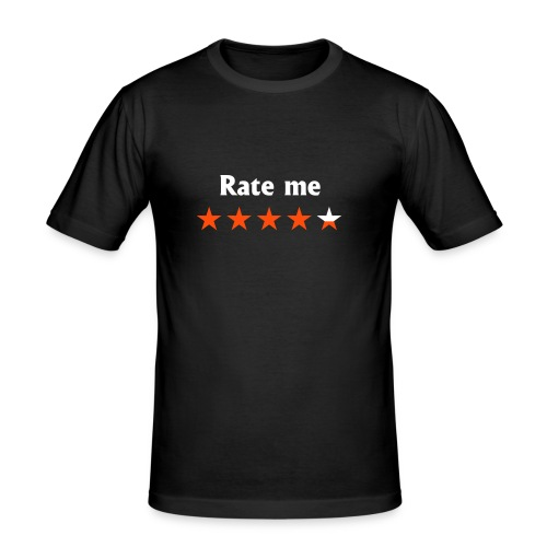 RATE ME - slim fit T-shirt