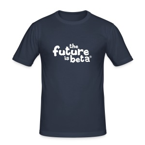 The Future is Beta - Männer Slim Fit T-Shirt