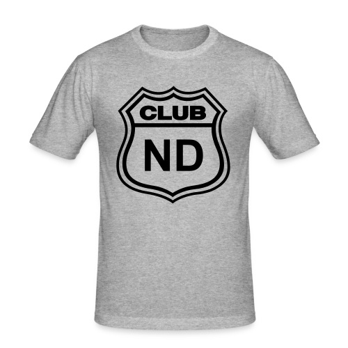 CLUB ND WHITE - Camiseta ajustada hombre