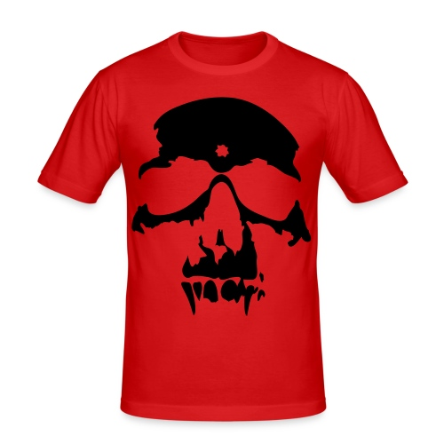 Skull 2 - Miesten tyköistuva t-paita