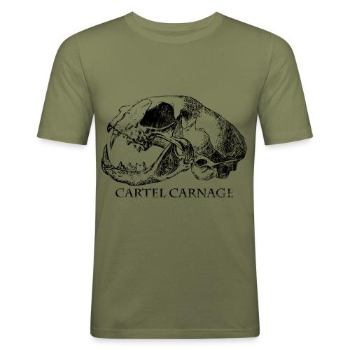 Cartel Carnage - T-shirt près du corps Homme