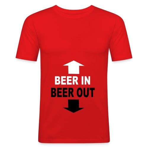 Wicked Beer Top - Men's Slim Fit T-Shirt