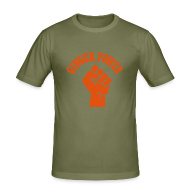 T-Shirts ~ Men's Slim Fit T-Shirt ~ Ginger Power